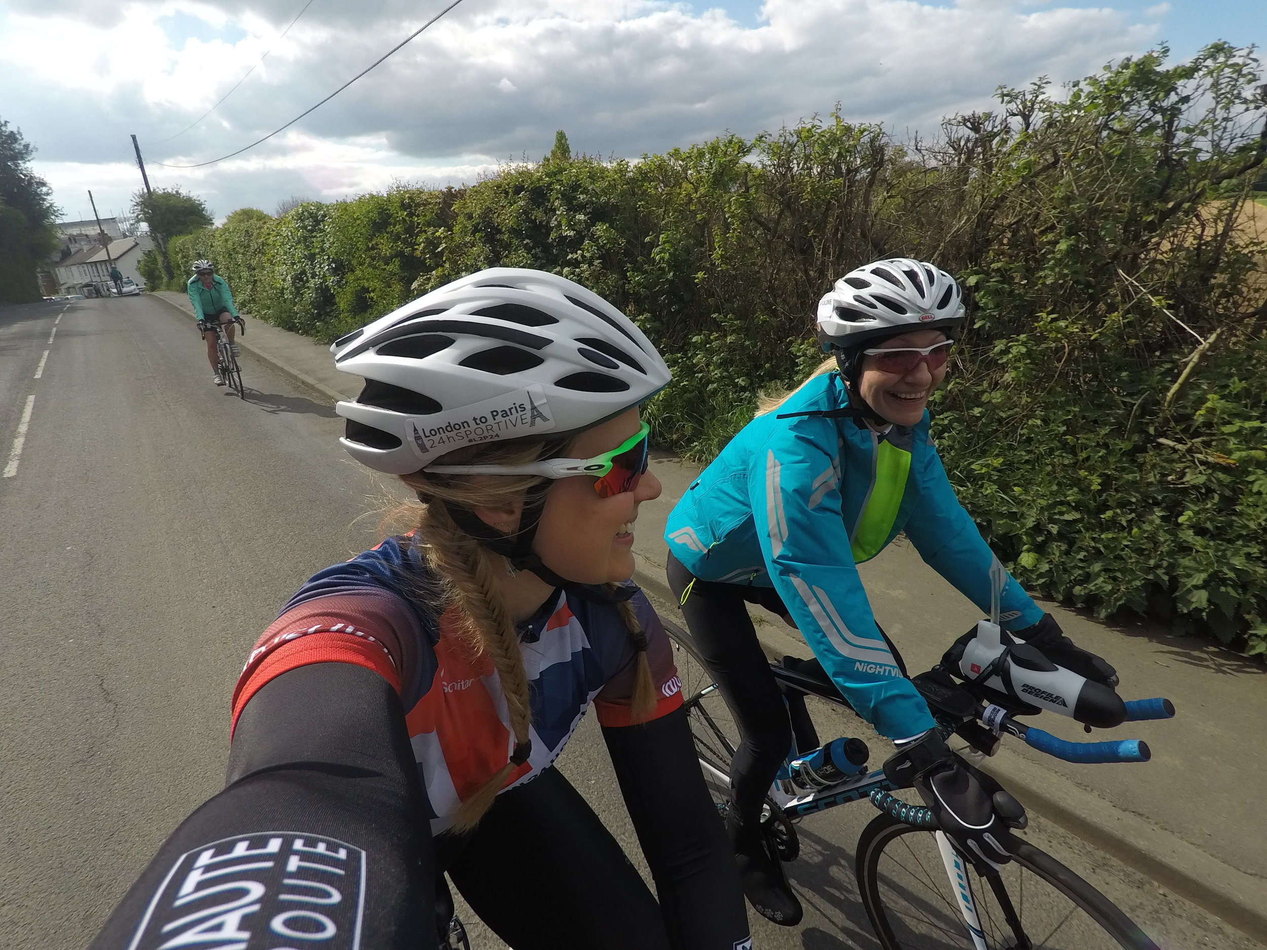 Cycling London to Paris in 24 hours. Challenge Sophie. Change your life