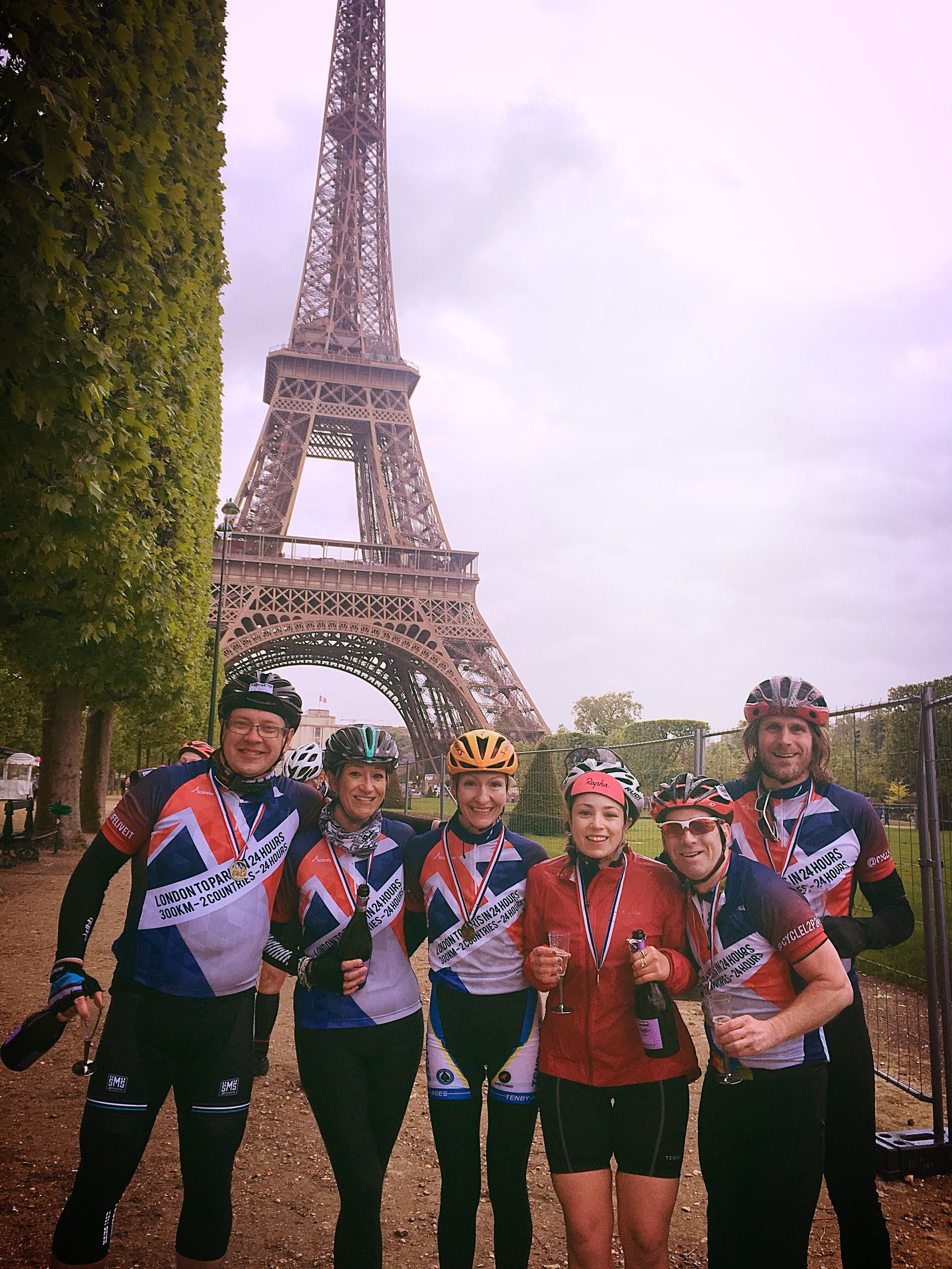 Cycling London to Paris in 24 hours. Challenge Sophie