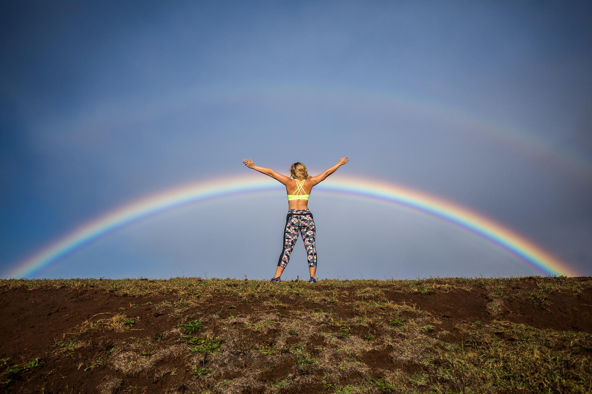 DOUBLE RAINBOW!!PC: Michael Hannig