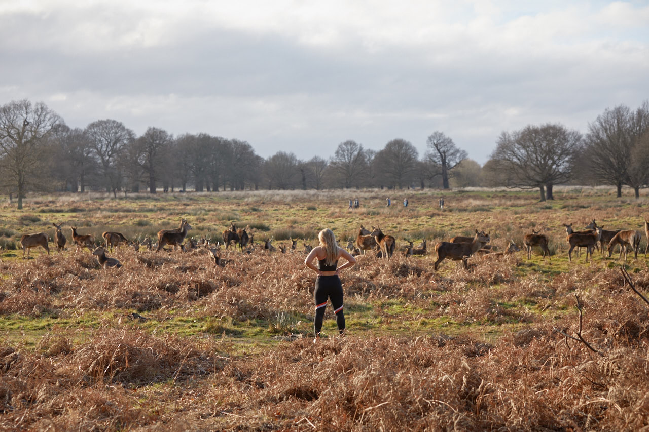 Challenge Sophie, Sophie Radcliffe, Richmond Park, Sweaty Betty