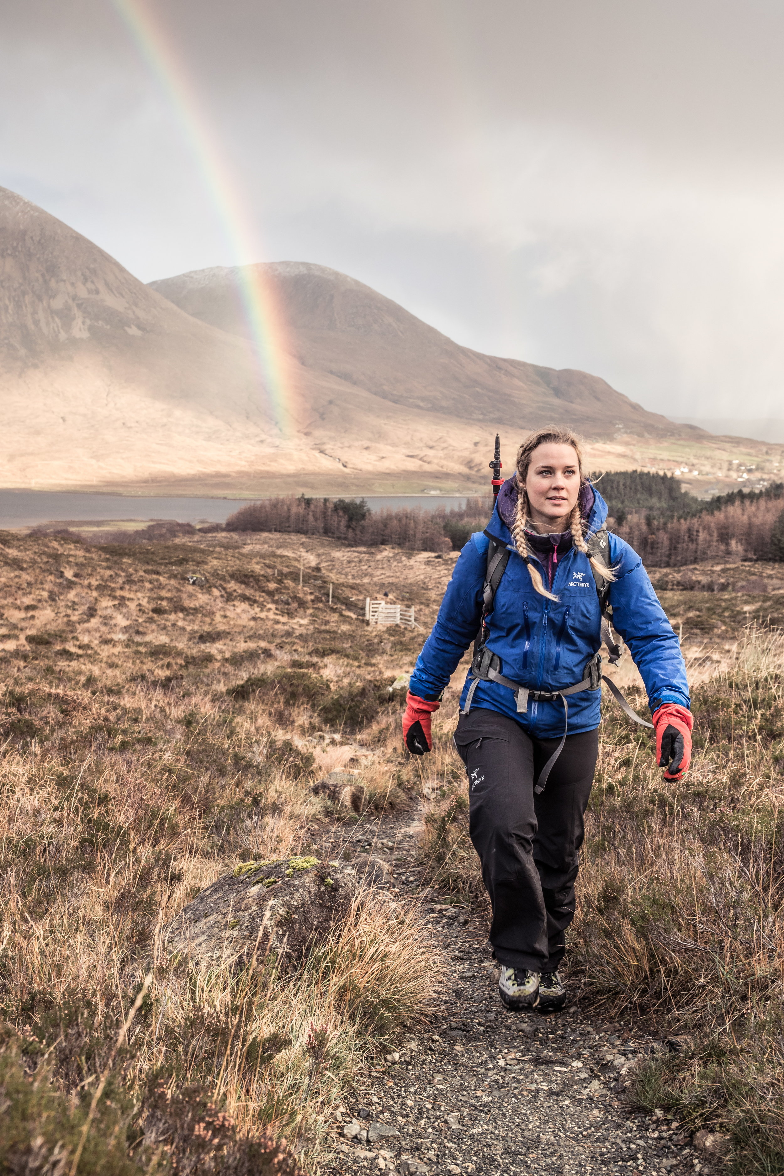 Rainbow on the Isle of Skye, Scotland