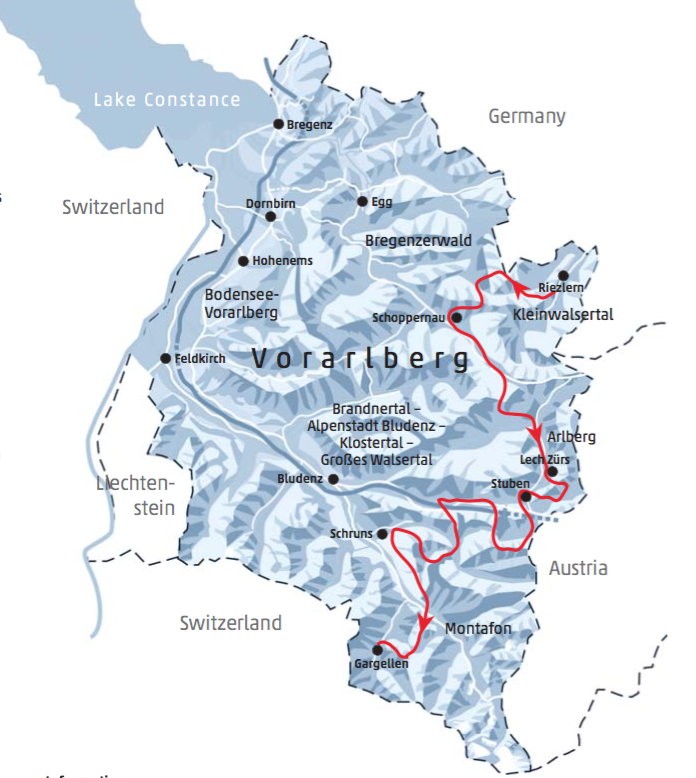 Ski ride Vorarlberg. Off piste, ski touring in Austria Adventure