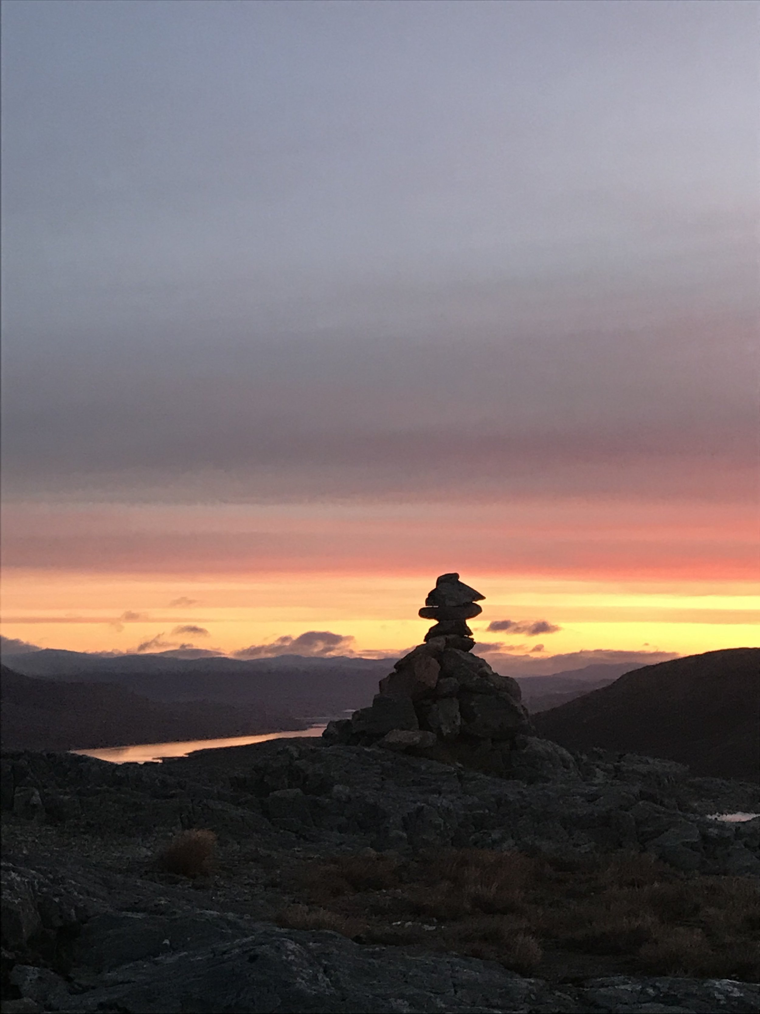 Possibly my favourite place on the planet to go for sunrise - top of The Devil's Staircase on the West Highland Way