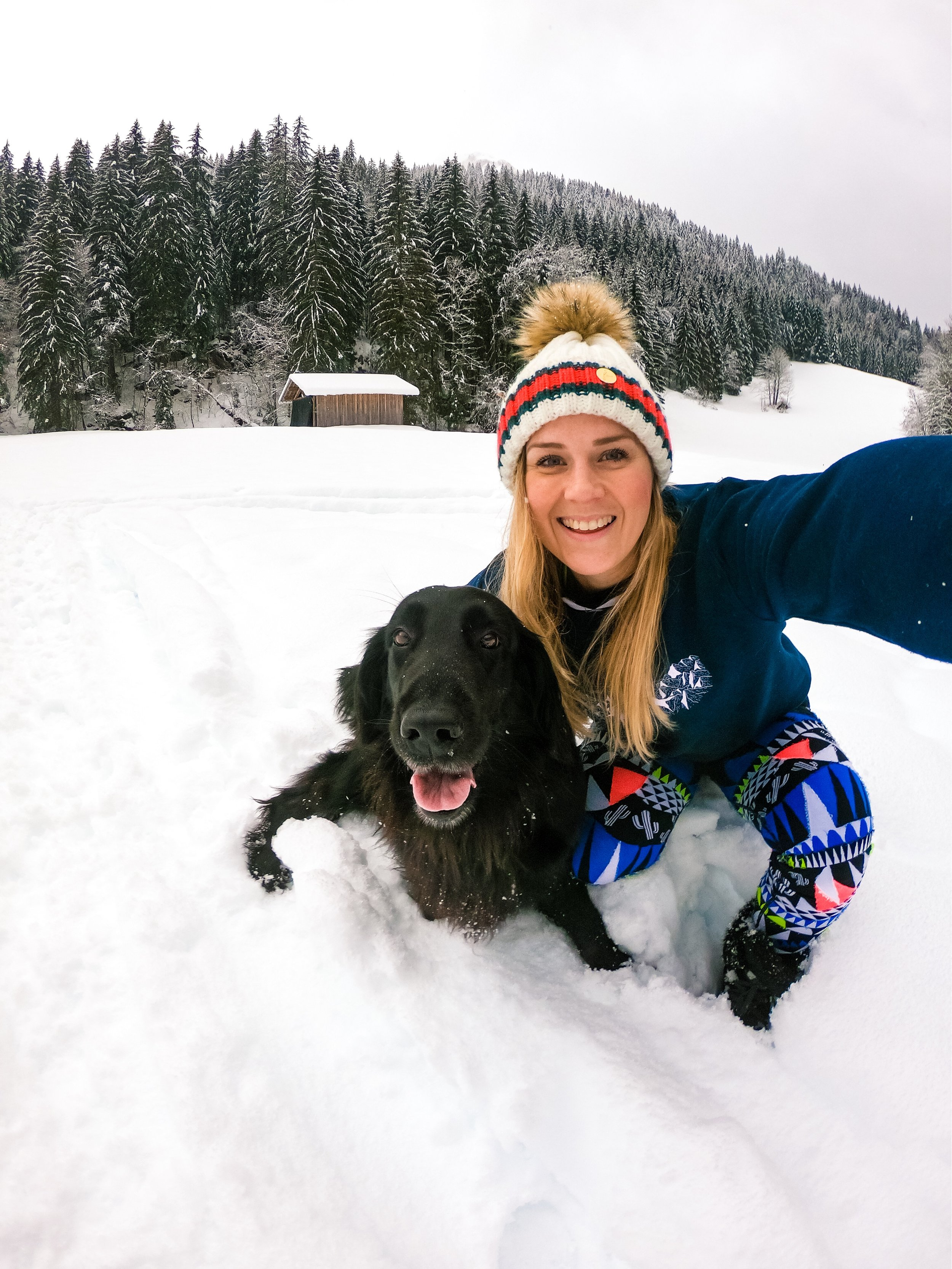 Chilly Powder Morzine, Skiing, adventure sports, Challenge Sophie, Sophie Radcliffe