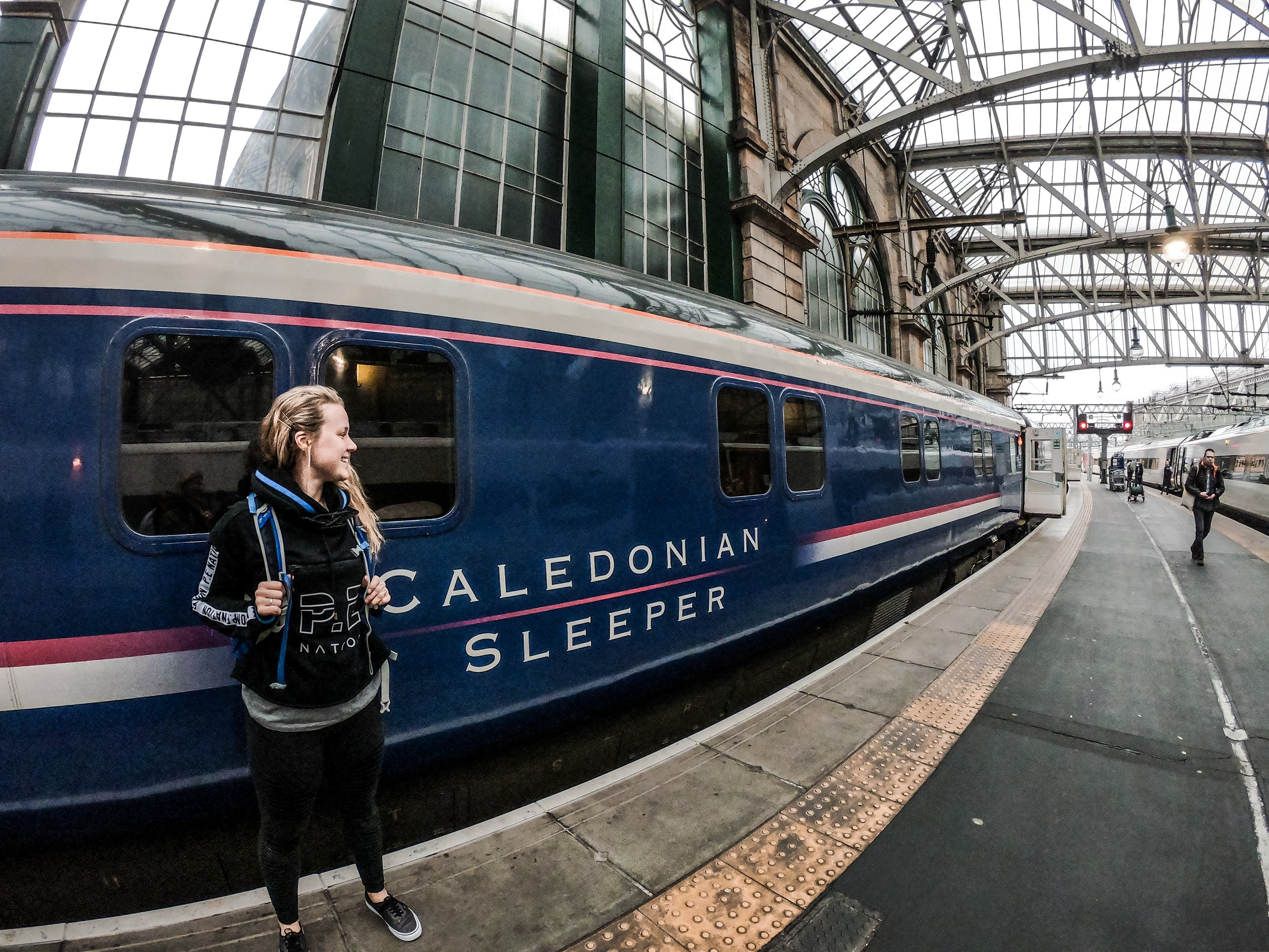 Caledonian Sleeper Train Scotland, adventure, sophie radcliffe