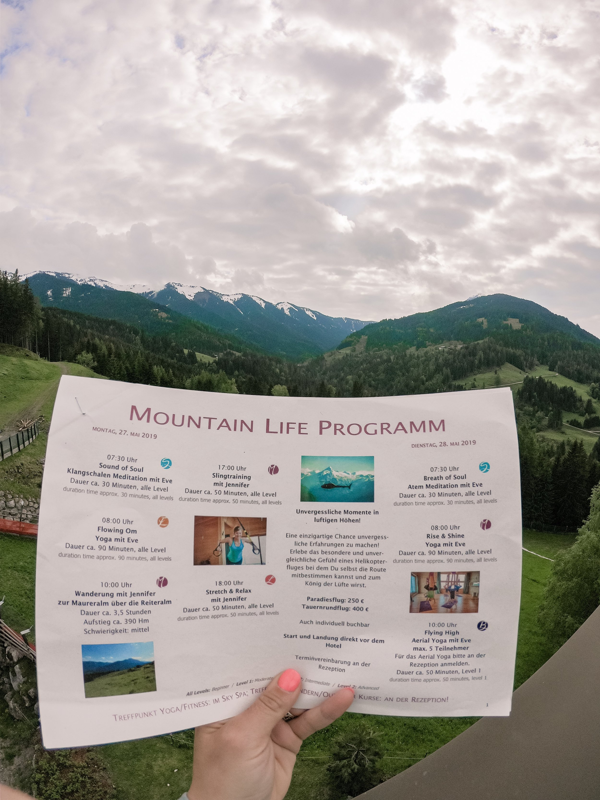 Mountains and Mindfulness, Leogang, Austriah
