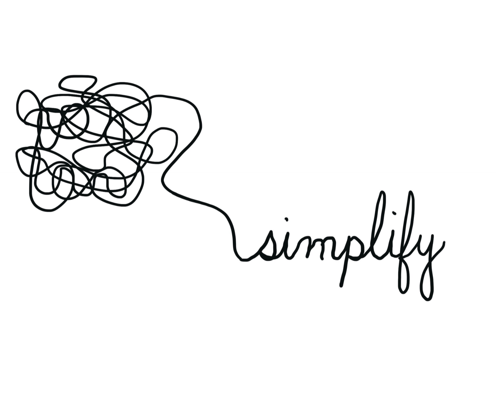 Simple looks easy. - But it's not. I am an expert at simplifying the complex. Having clarity helps you cut through the 5,000 marketing messages that bombard us daily.