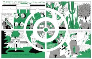 Historieta sobre el Real Jardín Botánico