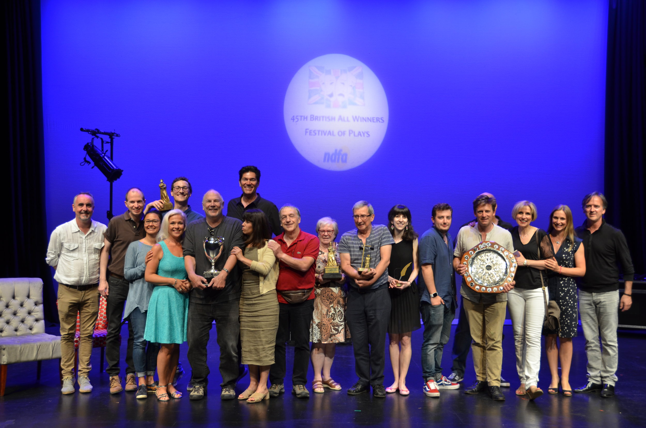 45th British ALl Winners Festival 2019 - Youth AwardsGADOC Audience Appreciation Award - Limitless Academy of Performing ArtsThe Buxton Trophy for the most promising youth player - Josh Fowler The Academy of Speech & DramaWinner: Limitless Academy of Performing Arts