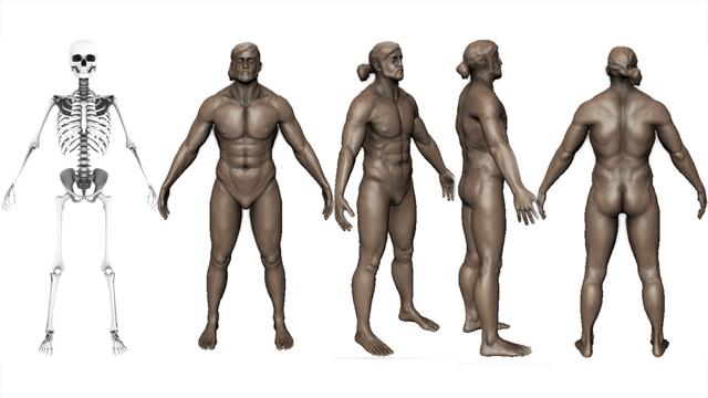 2nd Year Human Sculpt