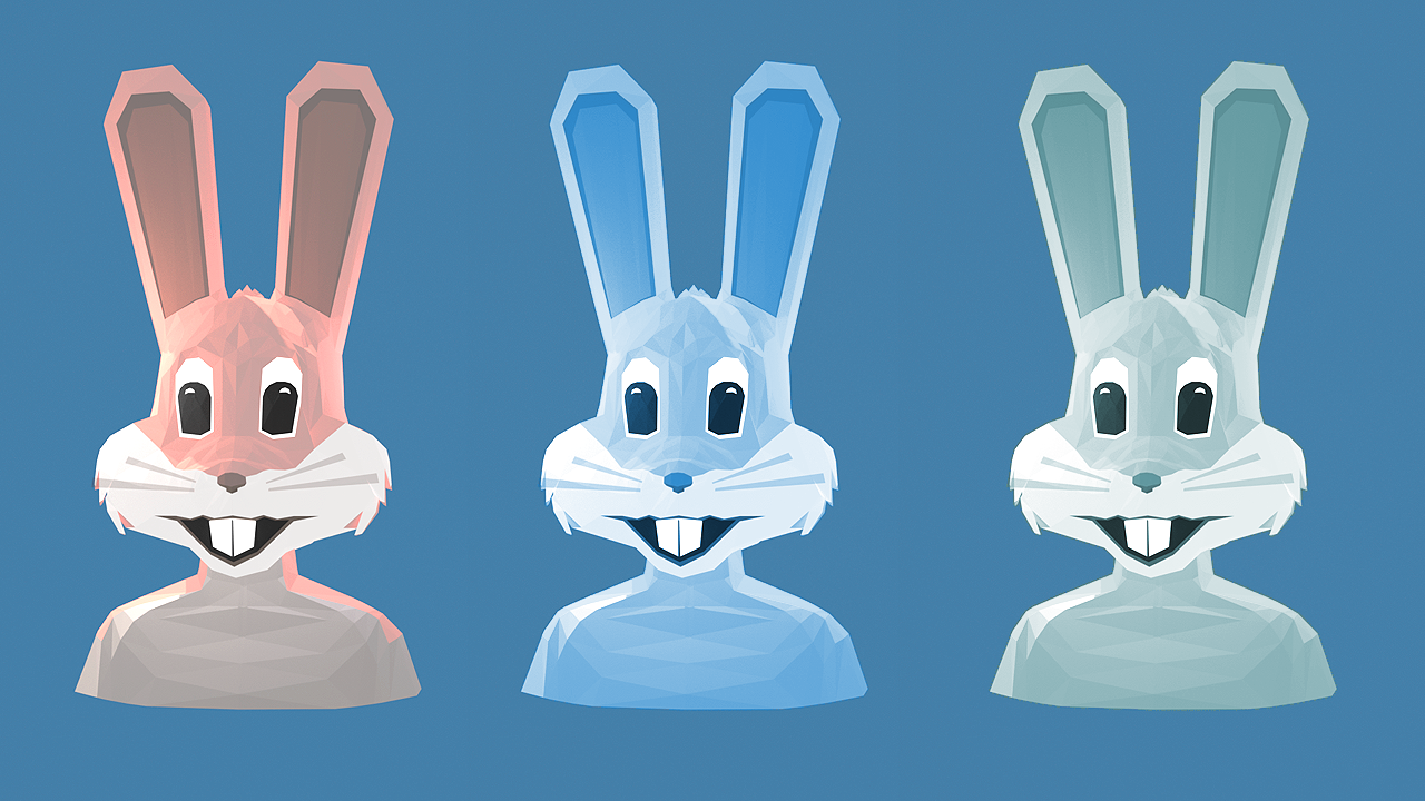 Bunny - 6th Entry For LowpolyDailies