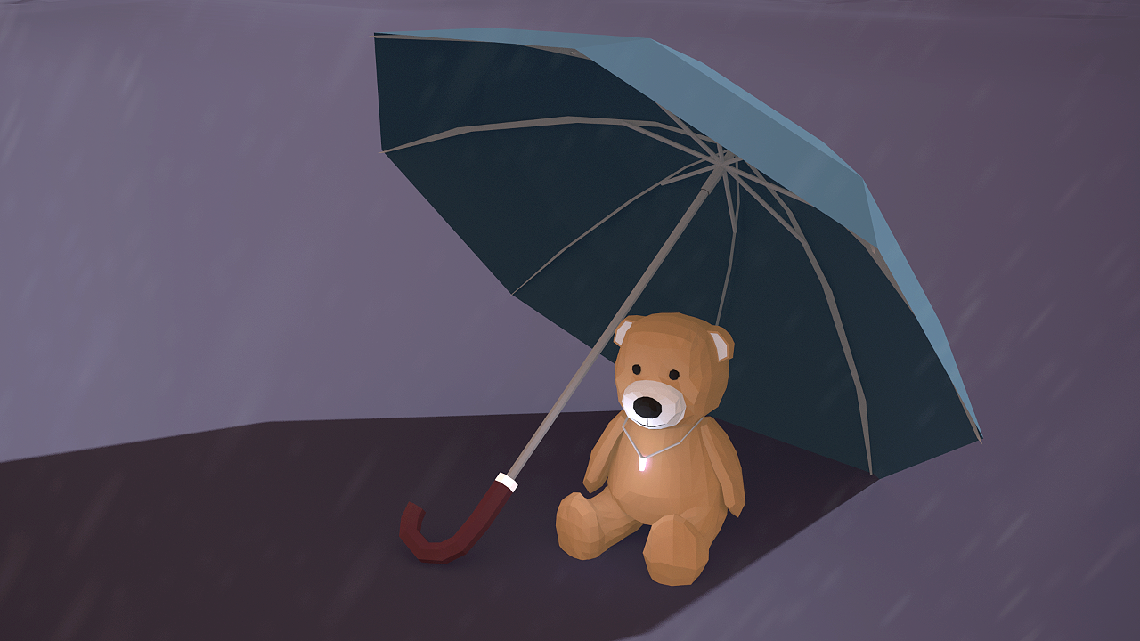 Teddy - 5th Entry For Lowpoly Dailies