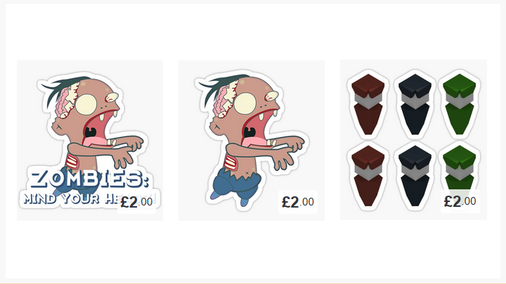Updated My Redbubble Shop!