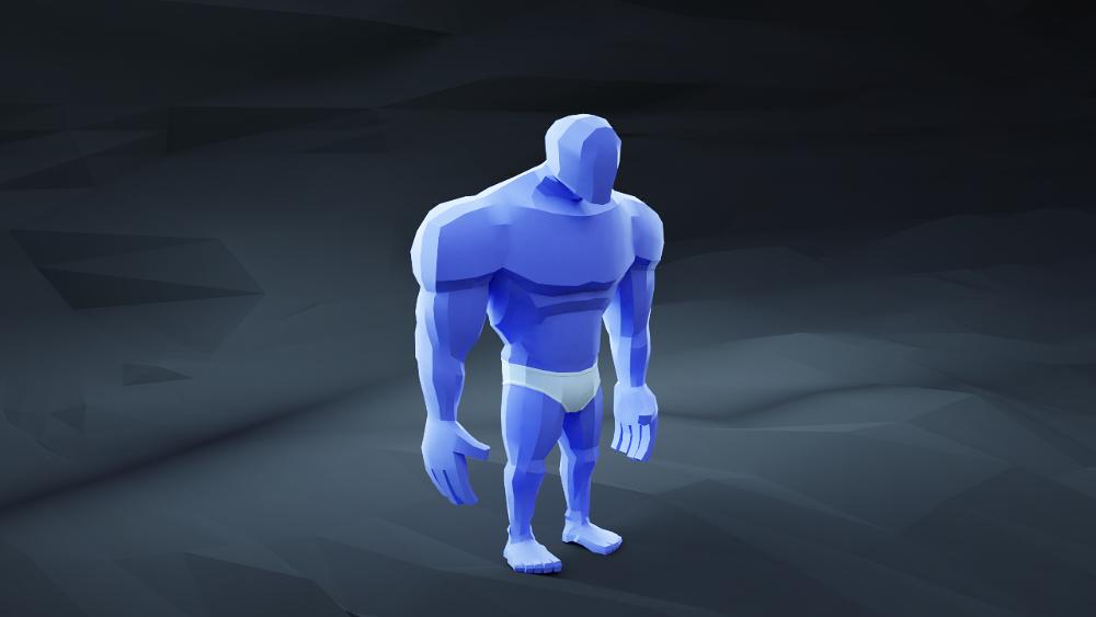 Strong Bot - Alt render