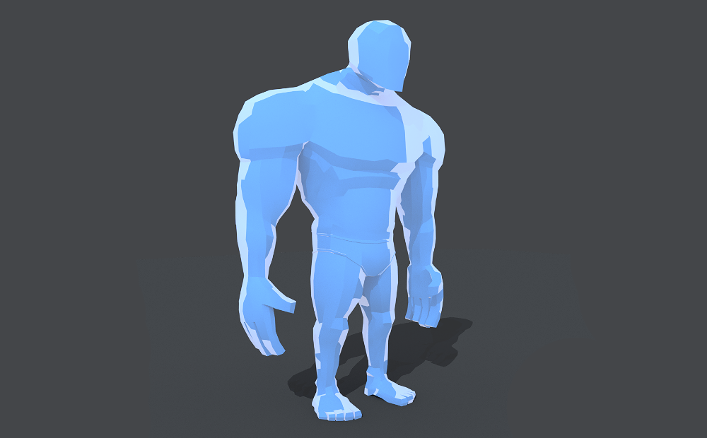 Strong Bot - Mixed Cel shaded style