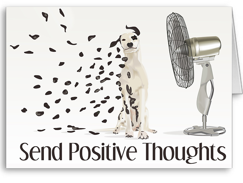 Send Positive Thoughts Logo