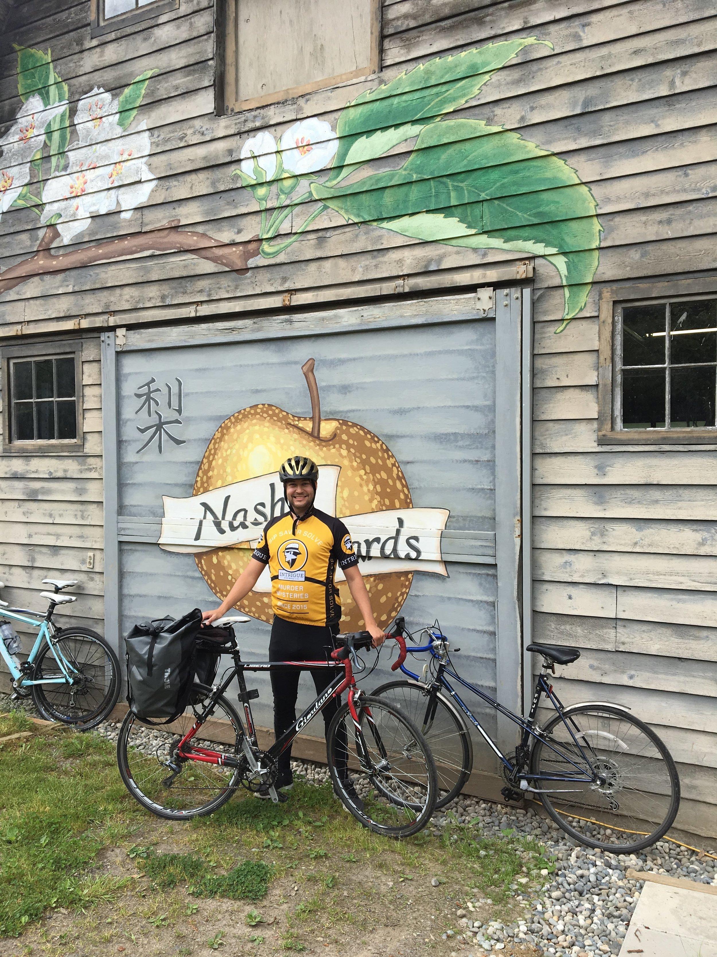 A major biking destination, apparently