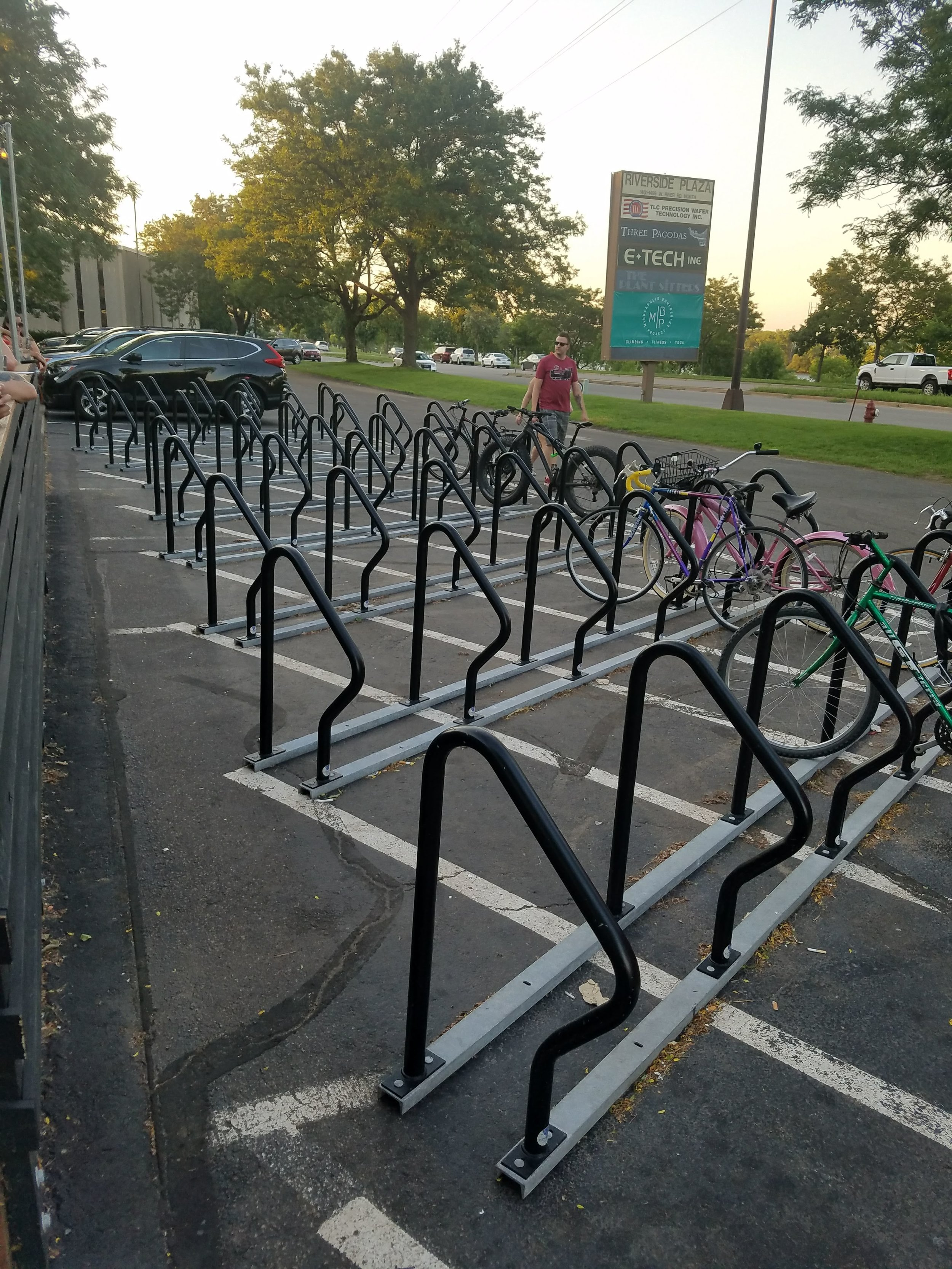 bike racks in Minneapolis