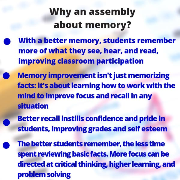 Help your students learn simple yet powerful techniques that make remembering easier than forgetting.