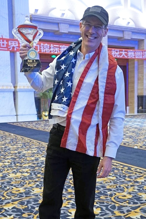 Brad was the co-captain of Team USA at the 2015 World Memory Championships where the team won the Silver Medal.