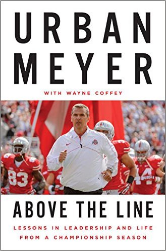 UPDATE: Coach Meyer's book was released on Oct. 27th. I recommend you pick it up at your local bookstore or you can buy at a significant discount on Amazon right now.