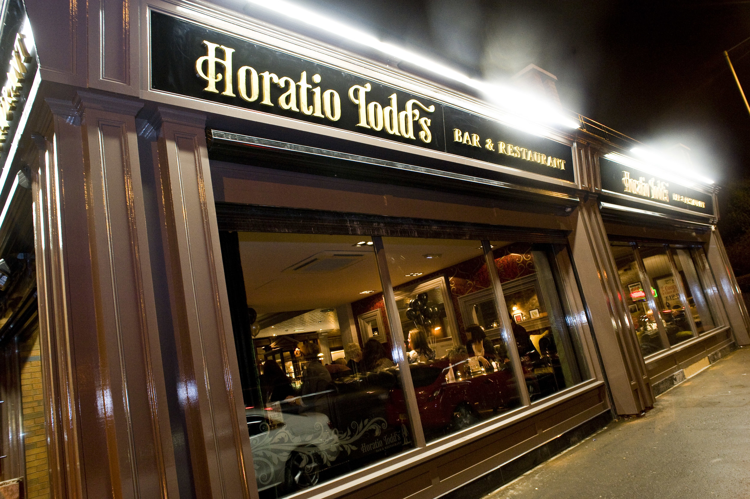 Horatio Todd's - Are currently recruiting for Chef de Partie & Commis Chef positions