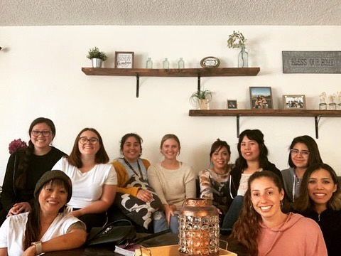 \\\ Our girls had a gathering this morning at Suzette's house. They had an amazing time! All you young adult ladies ought to make plans on joining us next time!  #theREMNANTya #ccmoval