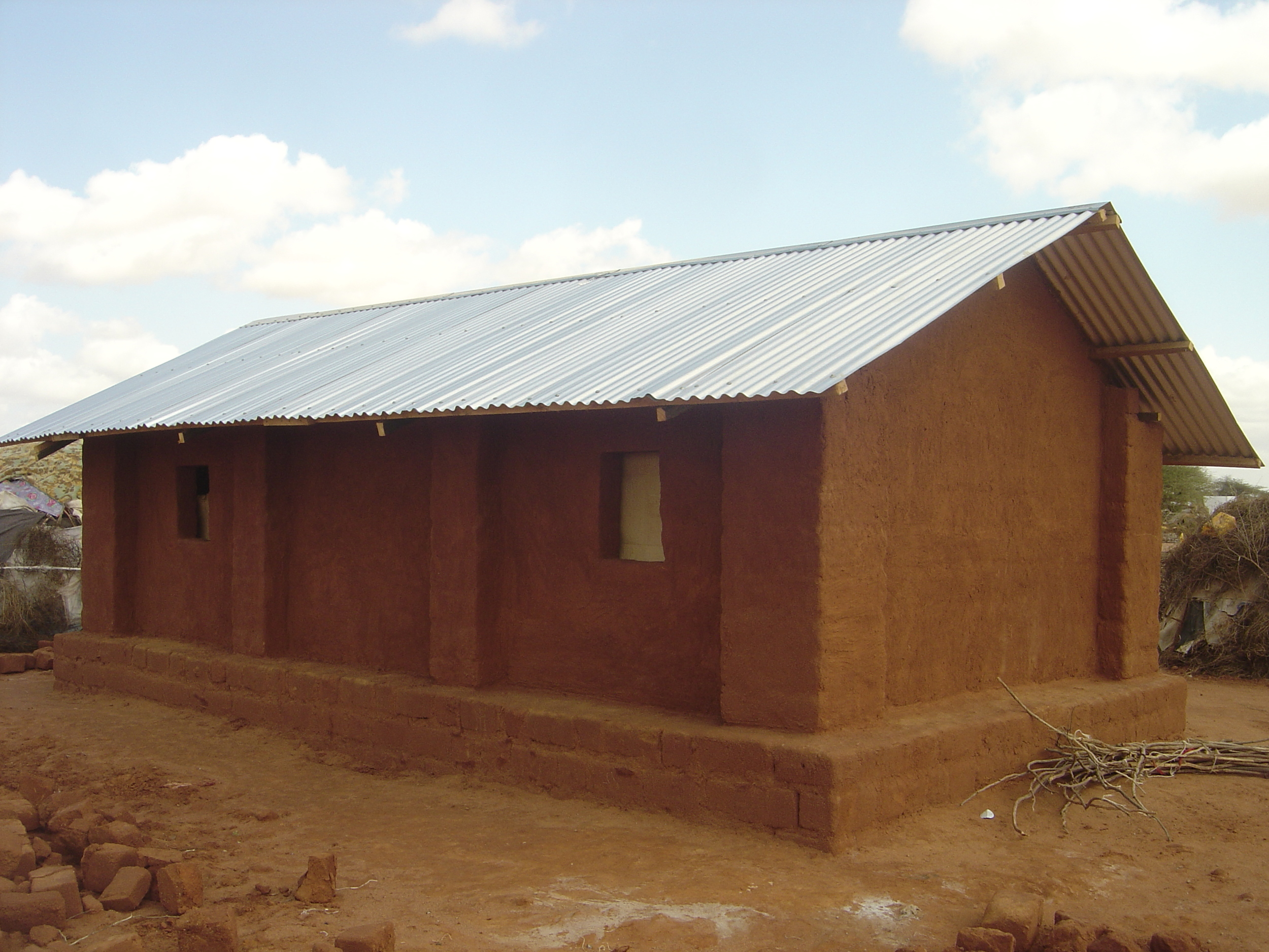 Transitional shelter co-design output using local knowledge and assets. 2007