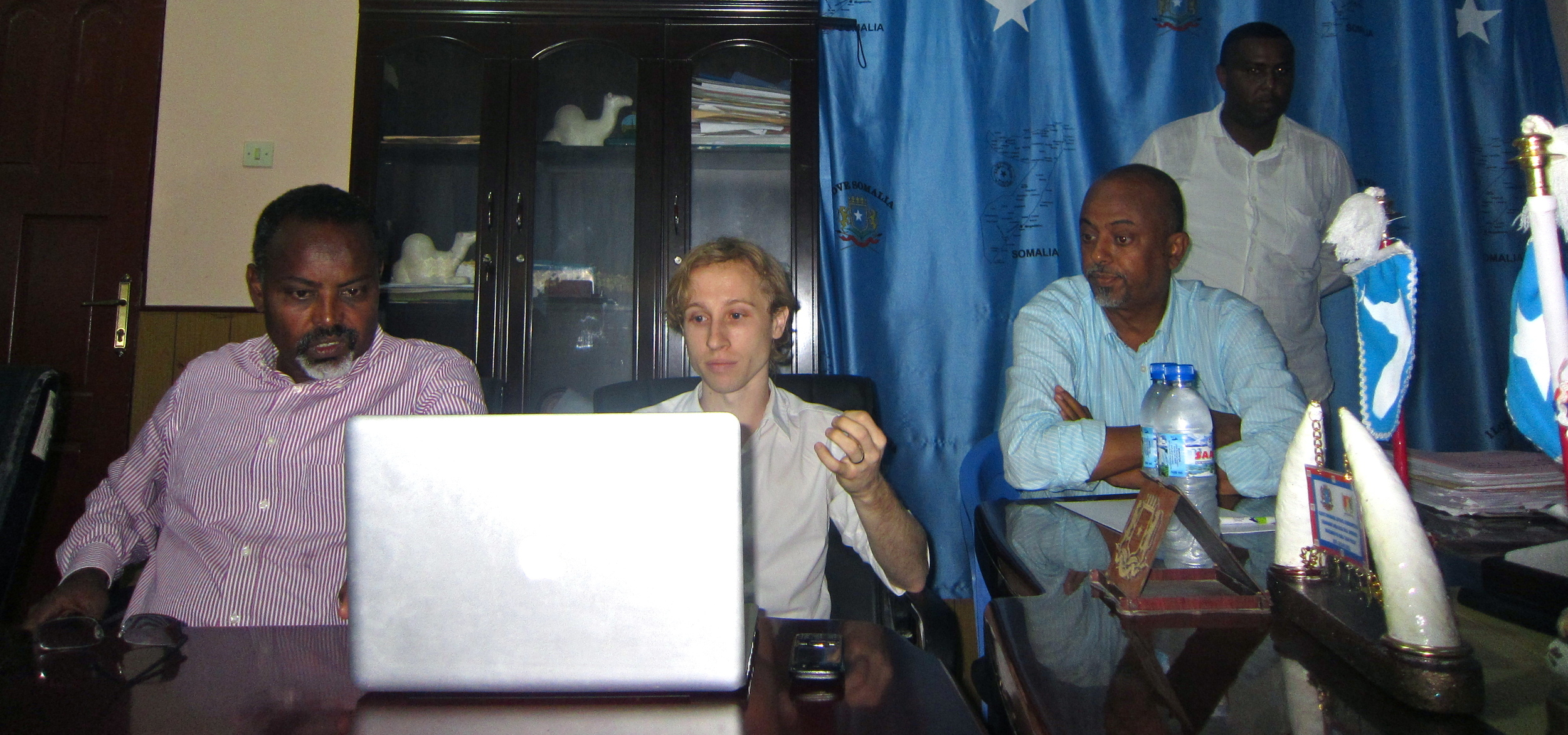 Introducing the Mayor of Mogadishu, Mohammud Nur, to Data Driven Reconstruction Methods