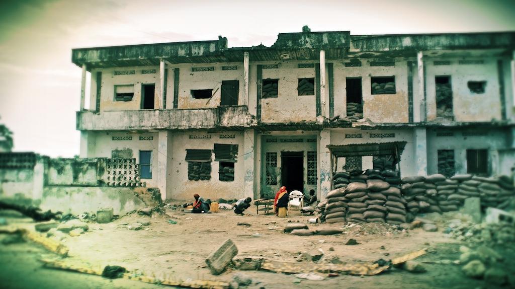 Federeal Building, Mogadishu Somalia 2011