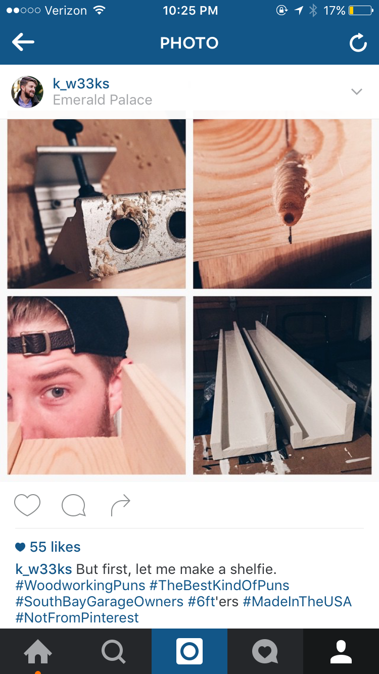 If you did a project but didn't put it on Instagram, did it really happen?