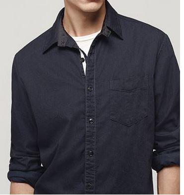 Field Shirt: Indigo$255