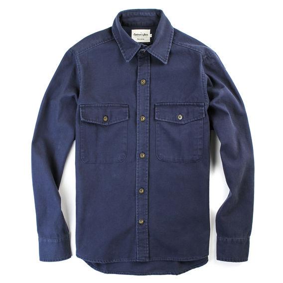 Huckberry Explorer's Shirt:          Dusty Blue $112.98
