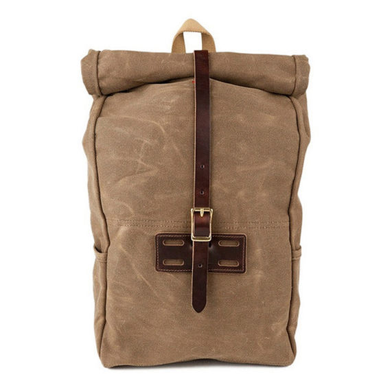 Canvas Rolltop Pack $260