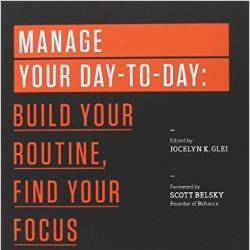 Manage Your Day-To-Day Book $8