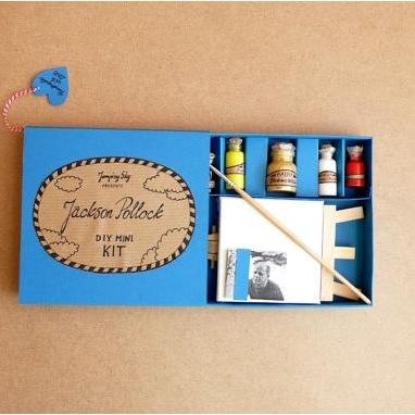 DIY Mini Pollack Painting Kit $30