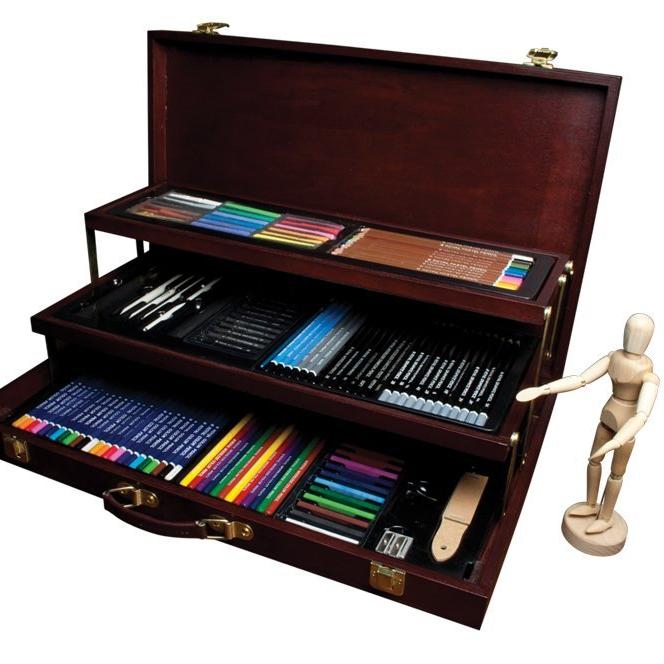 134pc Sketch & Drawing Kit $80