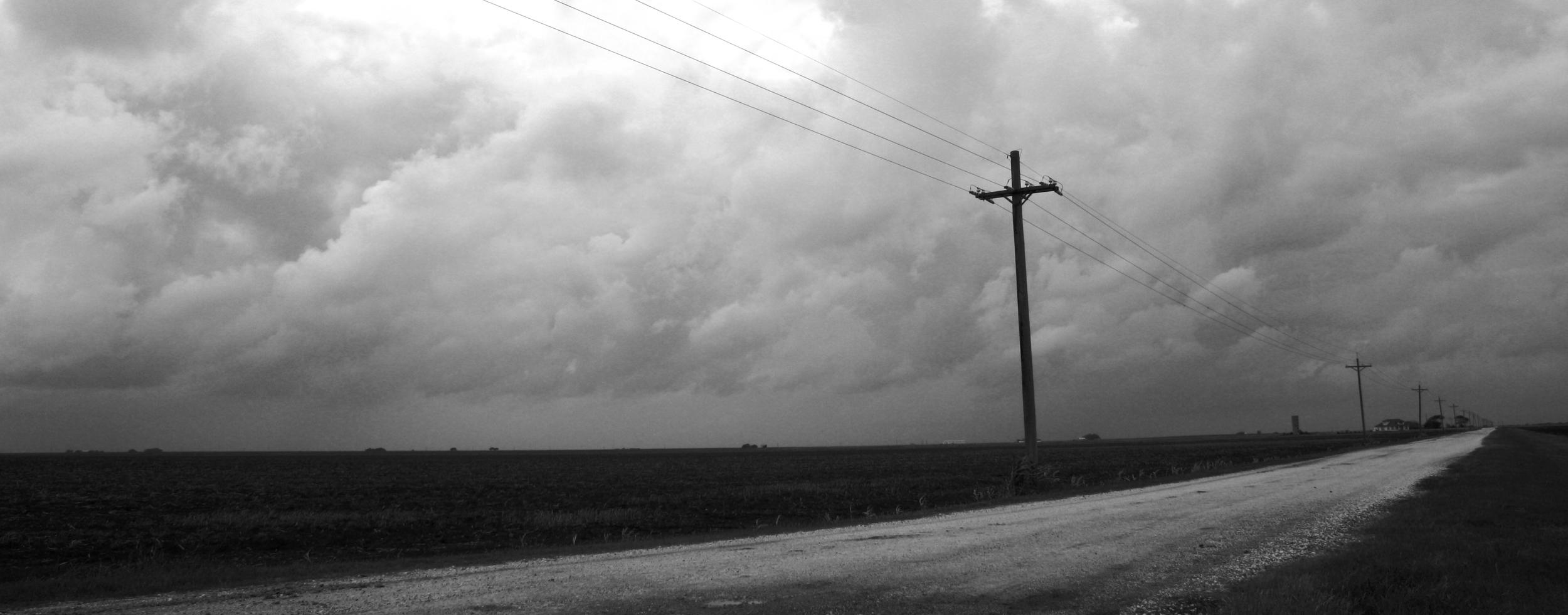 Outside Tivoli, Texas