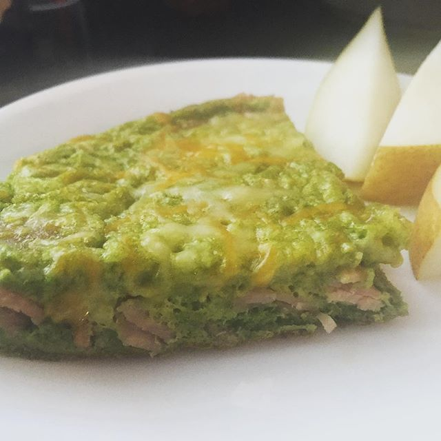 Green Eggs and Ham Frittata