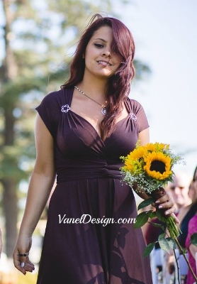 Brown Convertible Bridesmaid Dress.jpg
