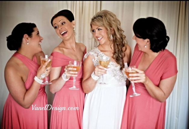 Convertible Bridesmaid Dress - Pink.jpg