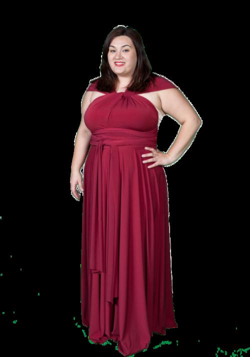 Plus Size Convertible Dress — Vanel Design