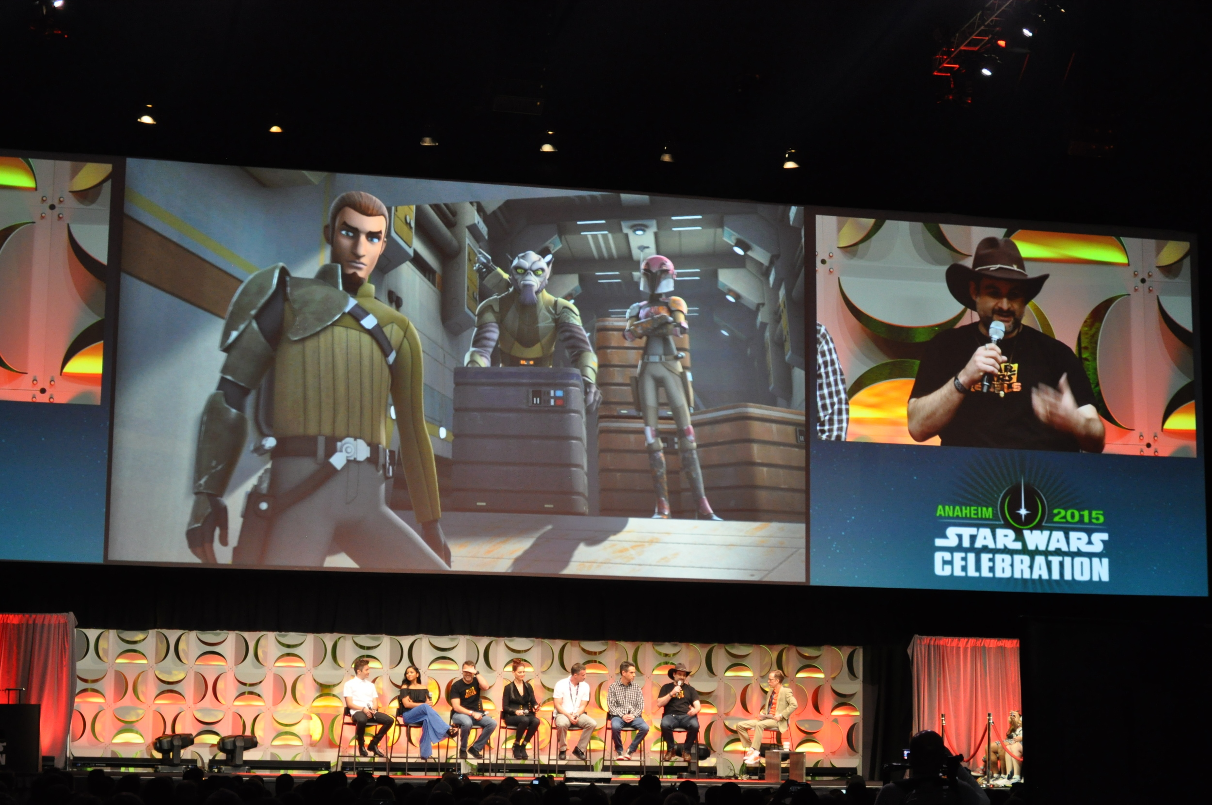 Dave Filoni and the cast discuss Star Wars: Rebels.