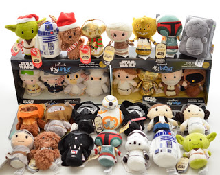 My focus of Star Wars Itty Bittys from Hallmark