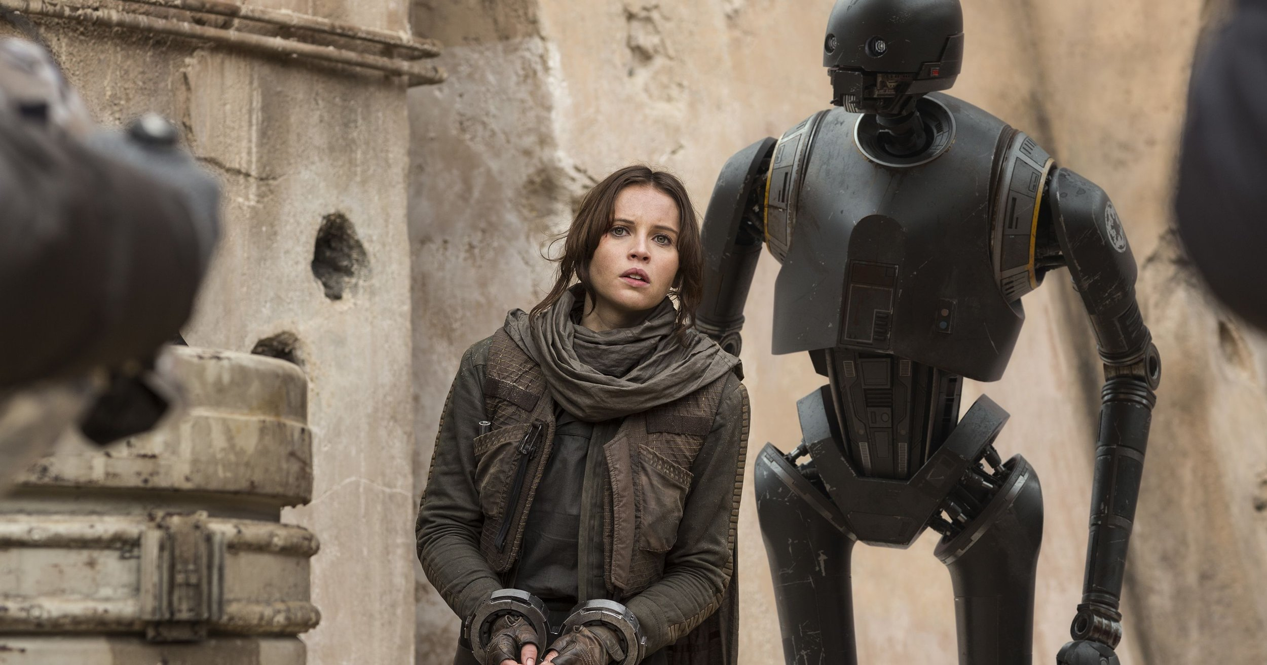 Felicity Jones (Jyn Erso) and Alan Tudyk (K-2SO) from last year's blockbuster,  Rogue One: A Star Wars Story , will both be attending Celebration Orlando to sign autographs and take photos with fans.