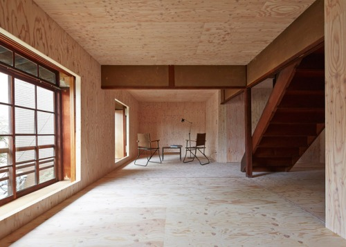a century old Japanese house lined by studio NAAD