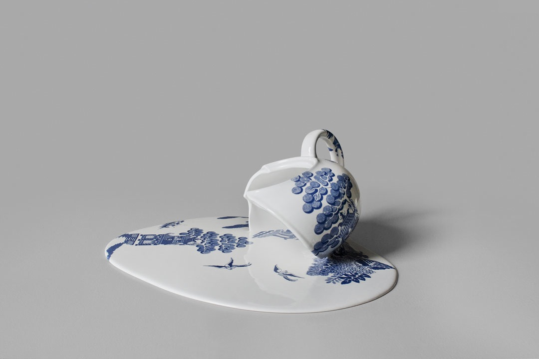 Melting Porcelain by Livia Marin