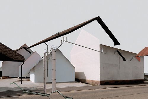 Patric Dreier,playing with the contrasts between urban and rural architecture