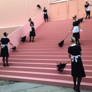 Farewell to Marc Jacobs at Louis Vuitton,Paris 2014.