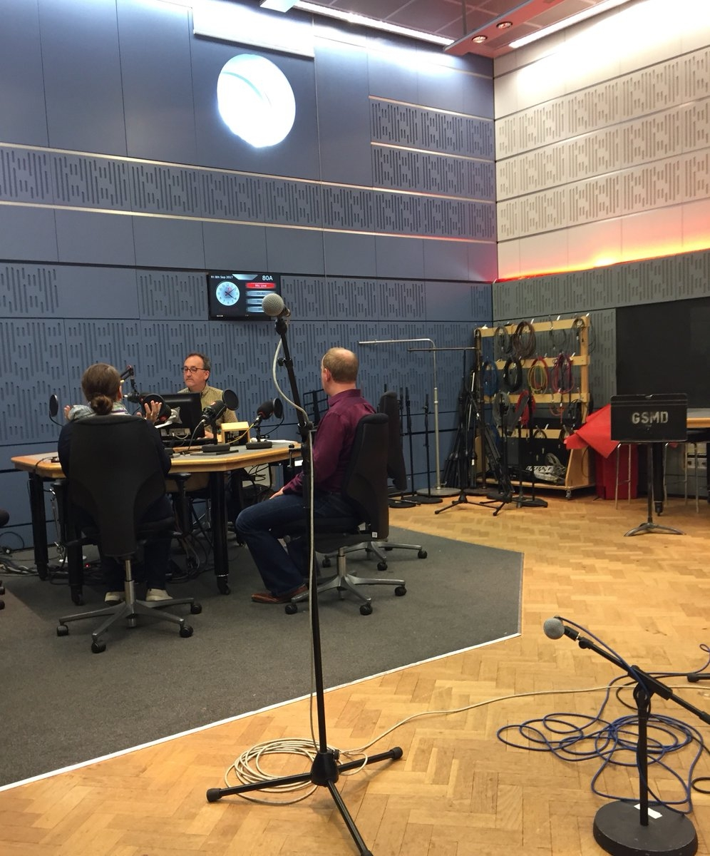 BBC3 In Tune interview with Ian Skelly